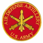 Air Defense Artillery Patch