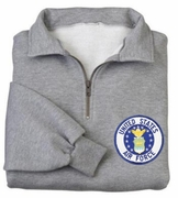 Air Force Patch 1/4 Zip Pullover