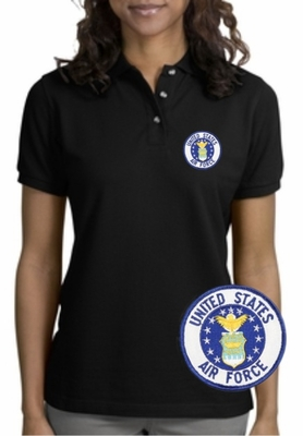 Air Force Patch Polo