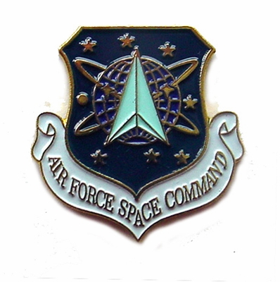 Air Force Space Command Pin