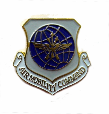 Air Mobility Command Pin