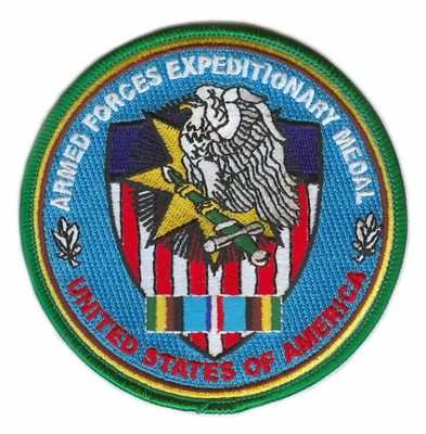 Armed Forces Expeditionary Service Patch