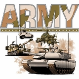 ARMY with Tanks Shirts
