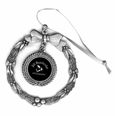 Attendant Pewter Holiday Ornament