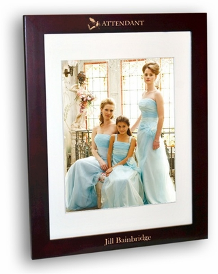 Attendant Rosewood Picture Frame