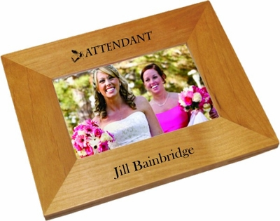 Attendant Wood Picture Frame