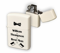 Zippo-Best Man Personalized Lighter