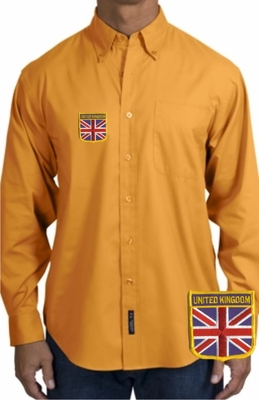 British Long Sleeve Oxford