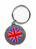 British Pewter Key Chain