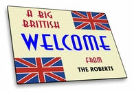 British Welcome Mat