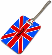 Brittish luggage tags