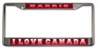 Canadian License Plate Frame