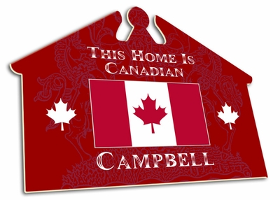 Candian House Sign