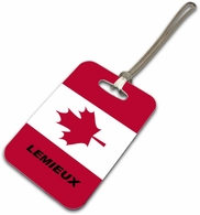 Candian Luggage Tag
