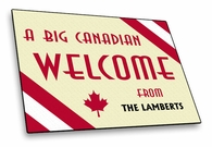Candian Welcome Mat