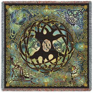 Celtic Tree of Life Throw