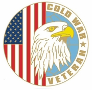 Cold War Veteran Pin