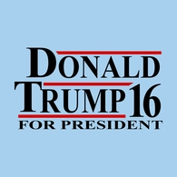 Donald Trump For President '16 Tee