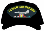F-16 Fighting Falcon Desert Storm Ball Cap