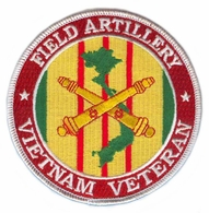 Field Artillery Vietnam Veteran Patch
