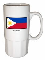 Filipino  Ceramic Stein