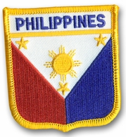 Filipino Crest Flag Patch