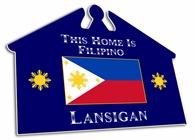 Filipino  House Sign