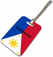 Filipino  Luggage Tag