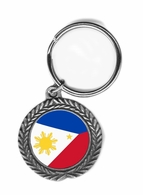 Filipino  Pewter Key Chain
