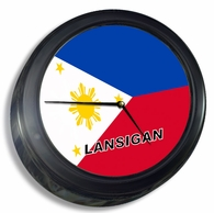 Filipino  Wall Clock