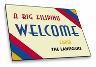 Filipino Welcome Mat