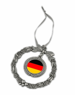 Germany Pewter Holiday Ornament