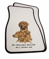 Golden Retriever Car Mats