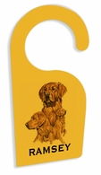 Golden Retriever Door Hanger