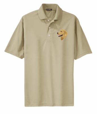 Golden Retriever Dri-Mesh Polo