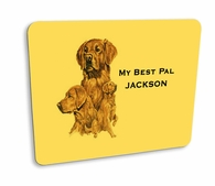 Golden Retriever Hard Mousepad