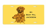 Golden Retriever License Cover