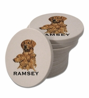 Golden Retriever Poker Chips