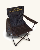 Golden Retriever Recreational Chair