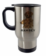 Golden Retriever Travel Mug
