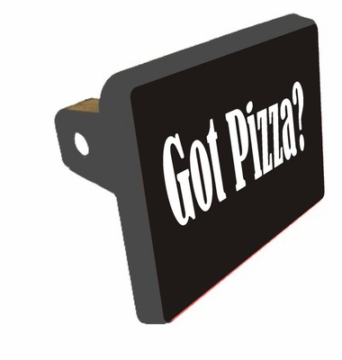 Got Pizza Trailer Hitch Cover
