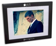 Groom Black Wood Picture Frame