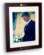 Groom Rosewood Picture Frame