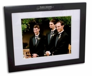 Groomsmen Gifts Black Wood Picture Frame