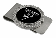 Groomsmen Gifts Pewter Money Clip