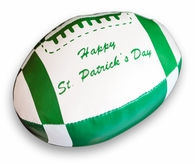 Happy St. Patrick's Day Mini Football