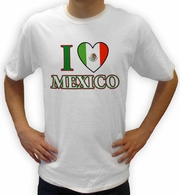 I Love Mexico Shirt