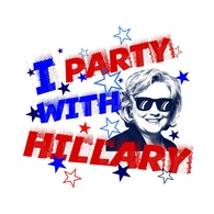 I Party With Hillary T-shirt