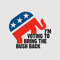 I'm Voting To Bring The Bush Back T-shirt