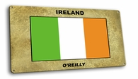 Ireland Vintage Metal Short Sign